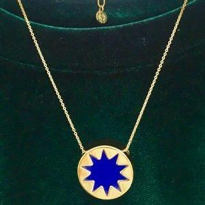 HOUSE OF HARLOW 1960 Cobalt MiniBurst Necklace